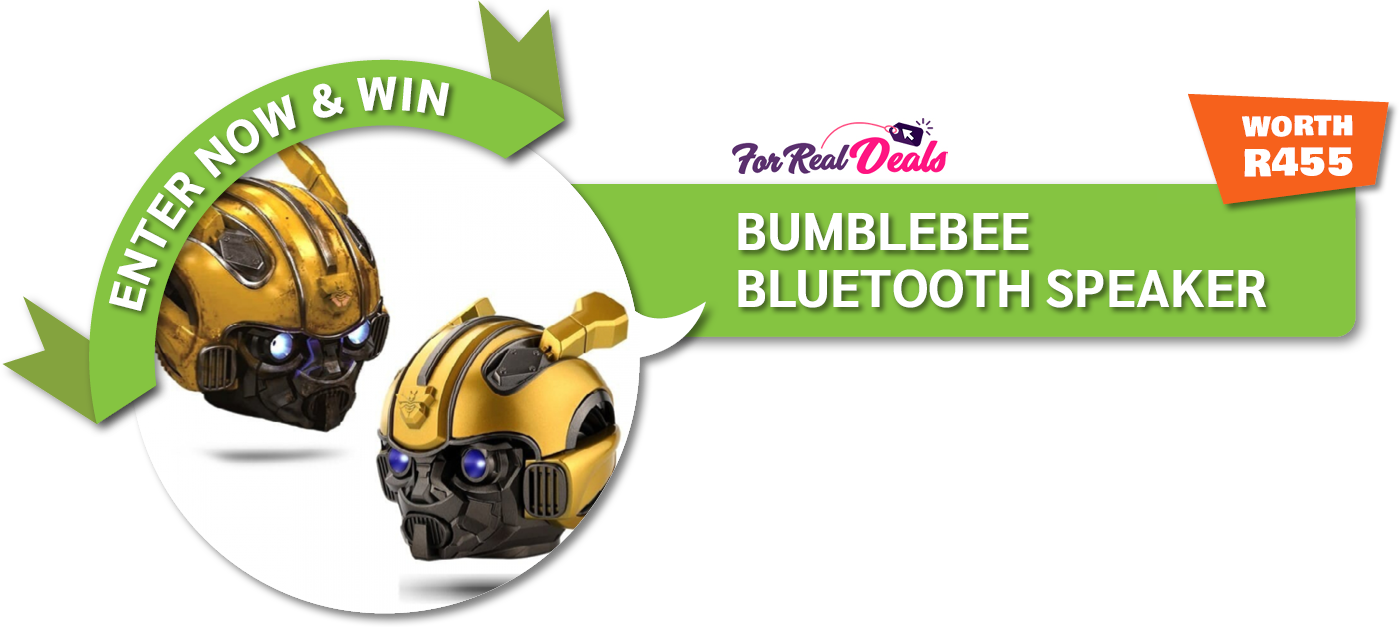PRIZE DESCRIPTION: This is the ultimate gift for a Transformers lover! Show your friends what a fan you are with this Transformers Bumblebee speaker. This speaker can play for 5-8 hours with Bluetooth capabilities and takes roughly 2 hours to charge. It is mini sized so perfect to carry around but still gives a brilliant sound at a speaker power of 3W.