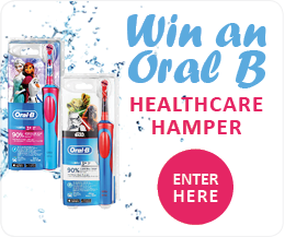 Enter the OralB Competition